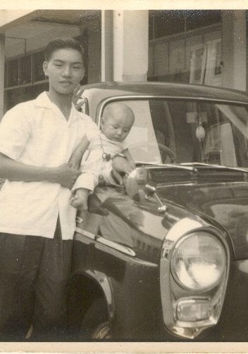 2nd Gen Yap and 3rd Gen Linda at Old Joo Chiat in 1966